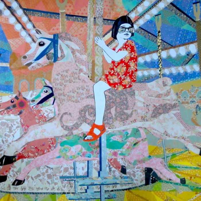 Яркие цвета и ностальгические темы. Leah Mariani