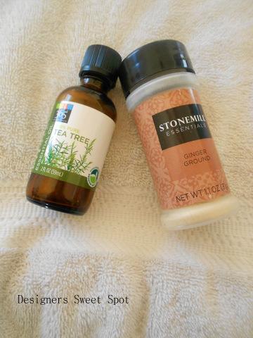Ginger Foot Bath ingredients