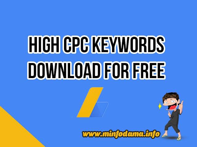 Download Keywords CPC tinggi untuk pemain Adsense Luar