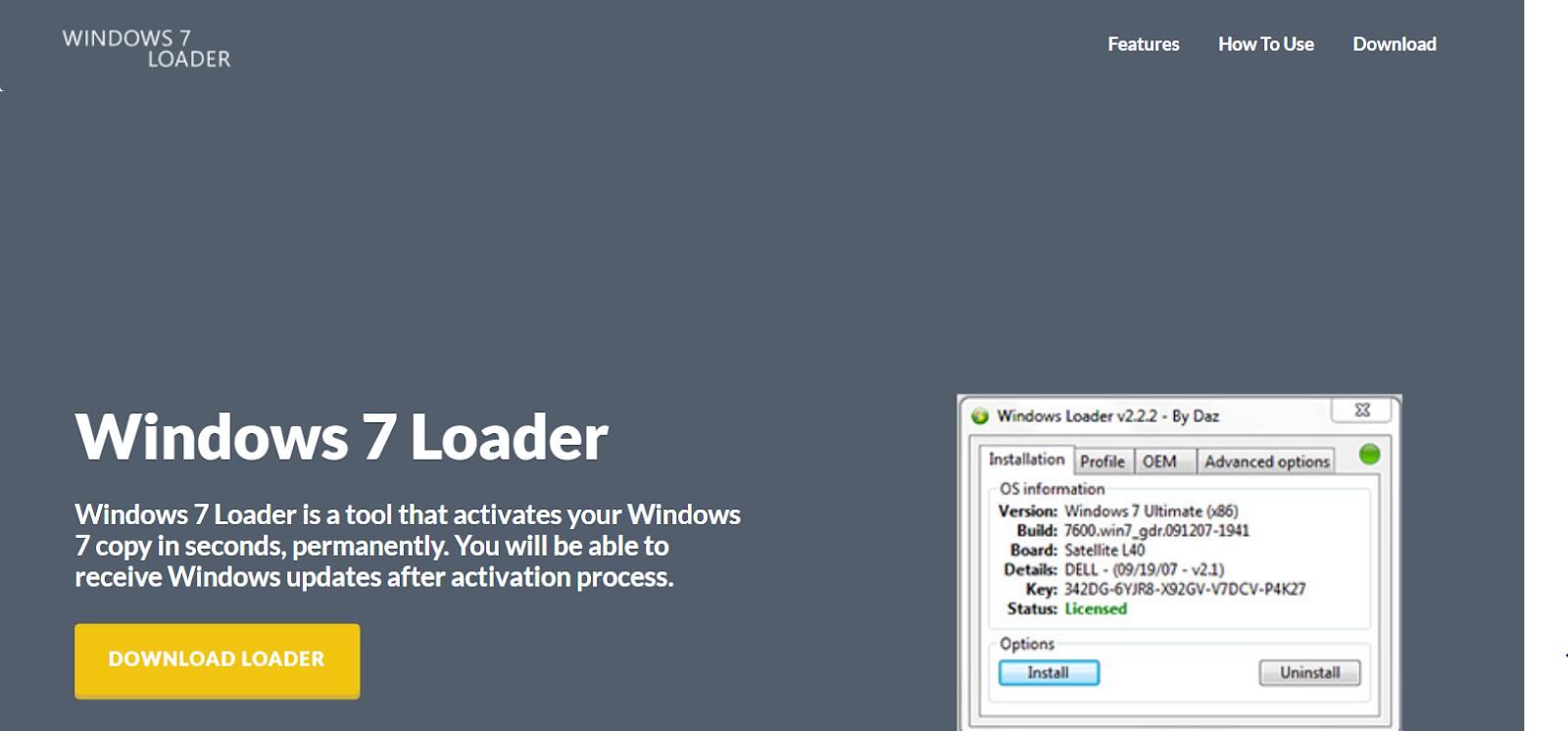 windows 7 loader build 7600 free download