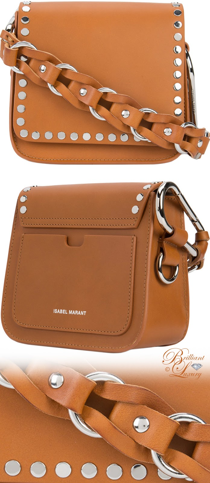 Brilliant Luxury ♦ Isabel Marant Minza Shoulder Bag