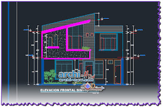 cad-dwg-file-one-family-housing-levels-san-juan-cajamarca-peru