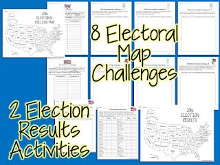 https://www.teacherspayteachers.com/Product/Election-Math-Challenges-Brainteasers-Fast-Finishers-Homework-Extensions-2838880