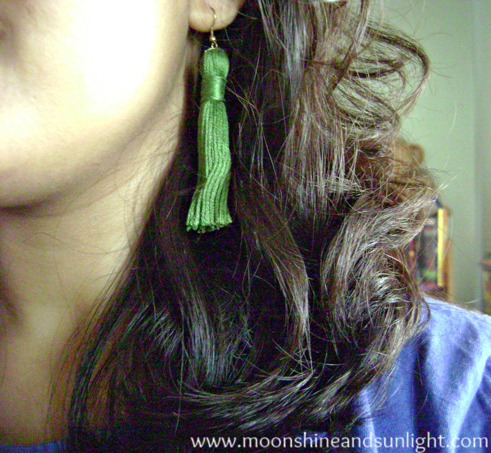 DIY tutorial | How to make tassel earrings