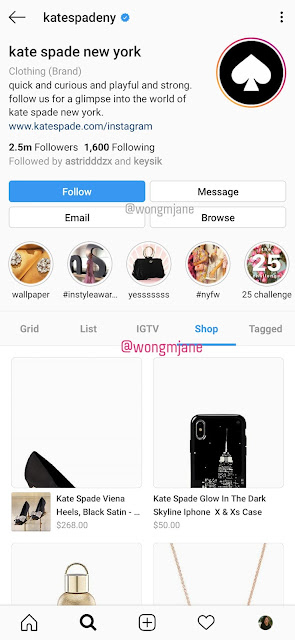 Instagram is testing Shop tab right in profile page