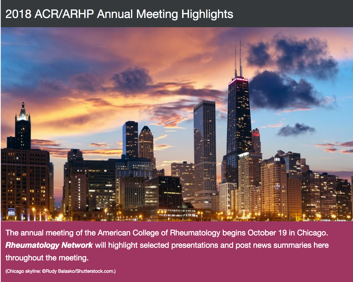 From This Point  Forward : October Articles for Rheumatology Network