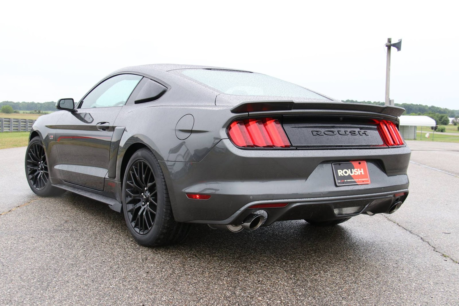 2016 roush ford mustang rs dark cars wallpapers. Black Bedroom Furniture Sets. Home Design Ideas