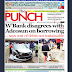 NAIJA NEWSPAPERS: TODAY'S THE PUNCH NEWSPAPER HEADLINES [17 OCTOBER, 2017].