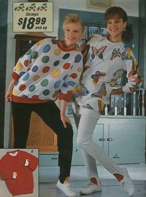 27 Worst '80s Fashion Trends ~ vintage everyday