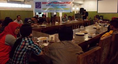 AJI Medan Gelar Diskusi Dan Pemutaran Film Working Class Heroes