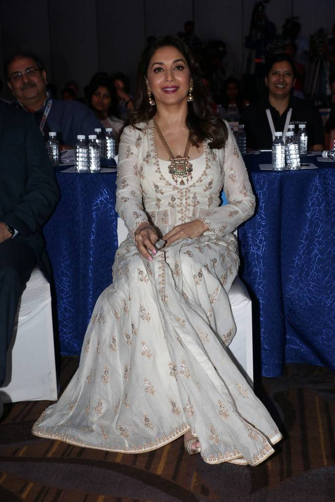 Indian Actress Madhuri Dixit Stills At FICCI Frames 2017