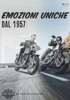 pubblicità sportster 60 anni by hd italia 2017 primo ed ultimo vicini