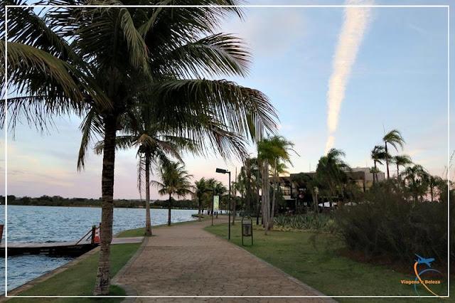 Pôr do sol no Pontão do Lago Sul,em Brasília