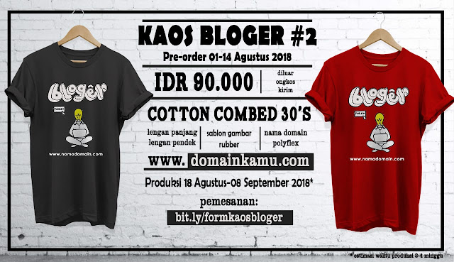 PO #KaosBloger @blogermerch