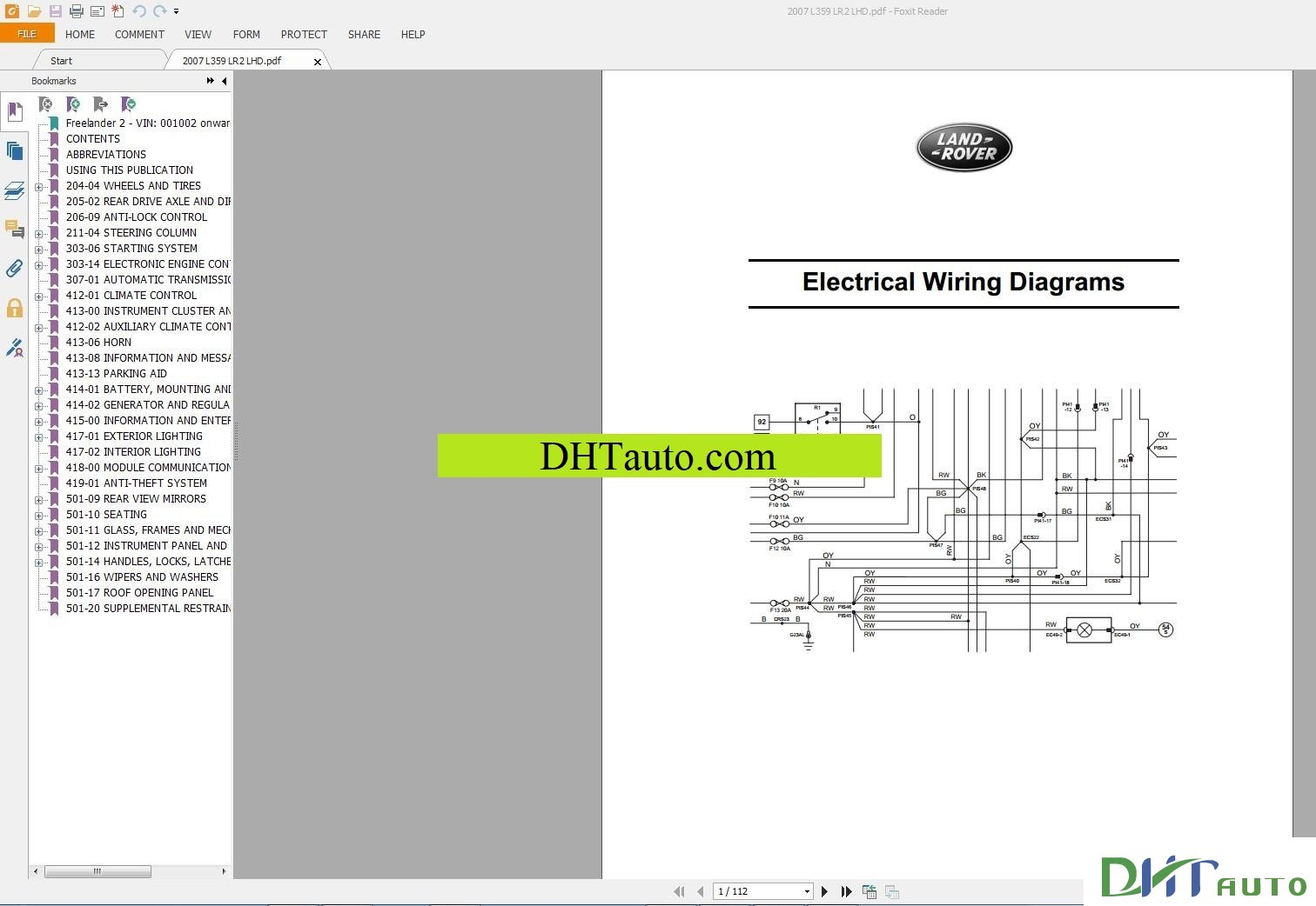 2004 Range Rover Wiring Diagram Pdf Illustration Of