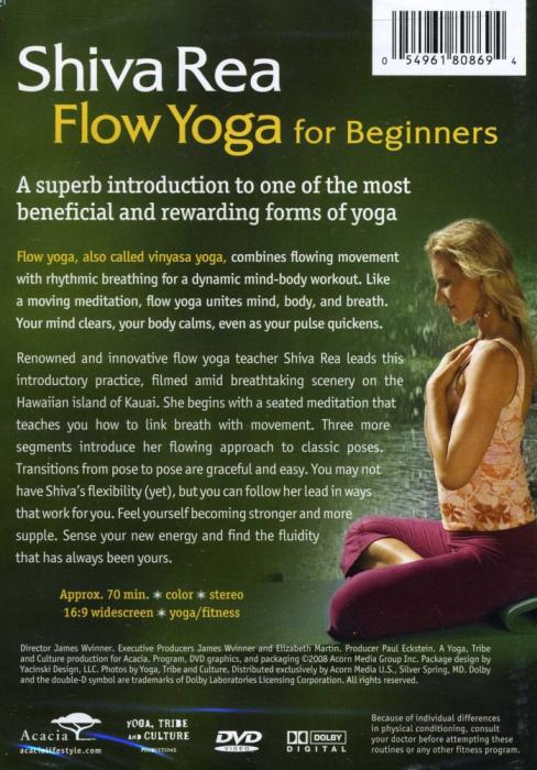 But More Than That It Made Me Finally Actually Purchase The Shiva Rea Flow Yoga For Beginners To Actually Learn Yoga Dip My Toes In The Pool Ive Been