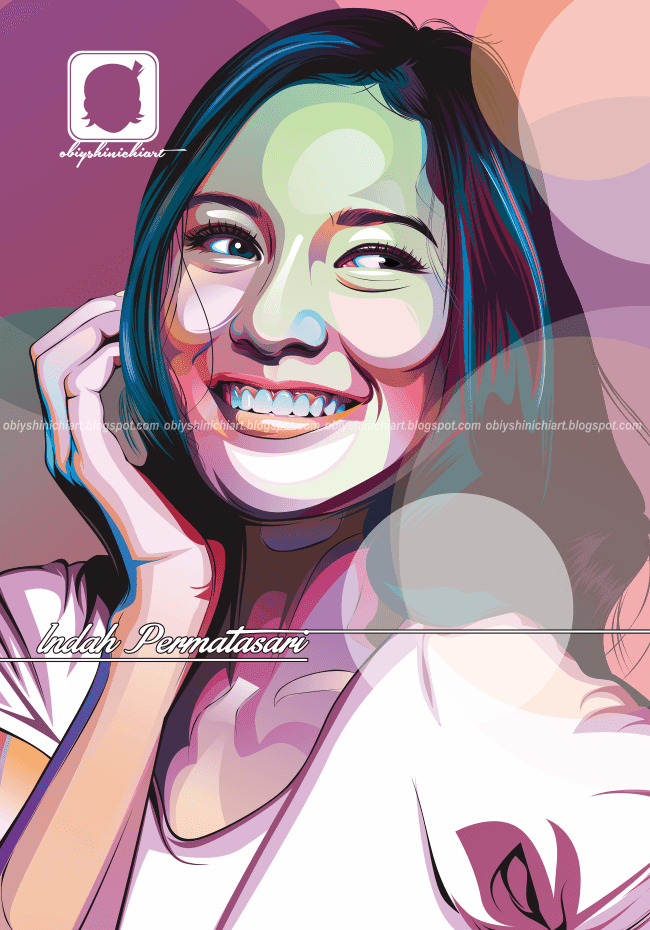 Indah Permatasari Vector Rock Art