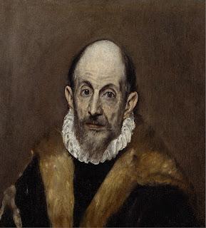 El Greco - Presumed self-portrait