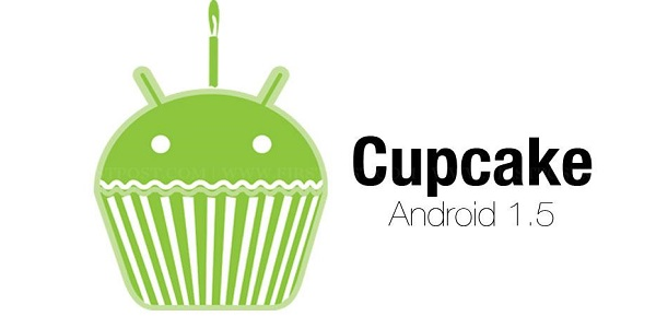 OS Android Cupcake
