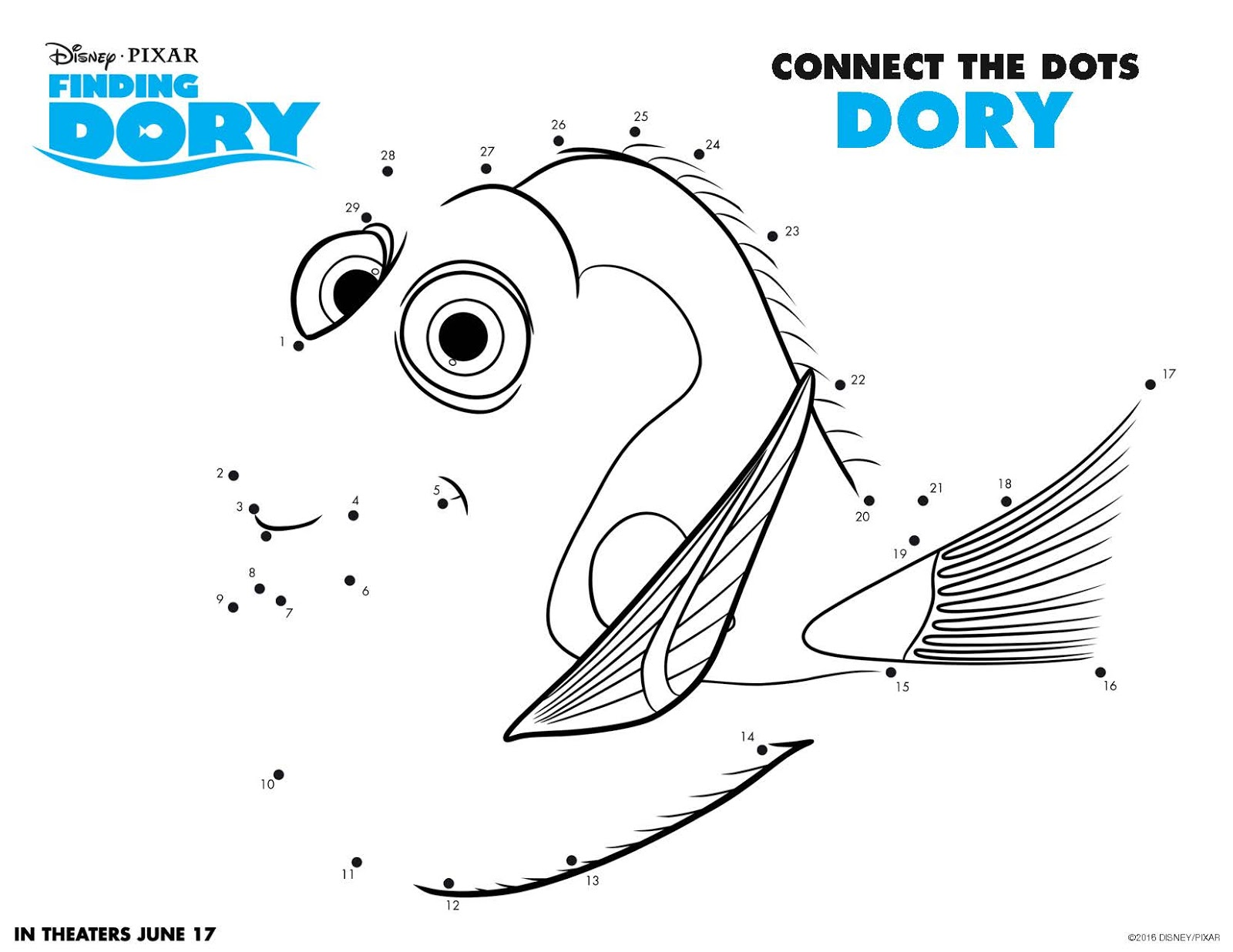 activity sheets memory game u0026 coloring pages de findingdory