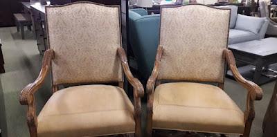 Custom wooden chairs