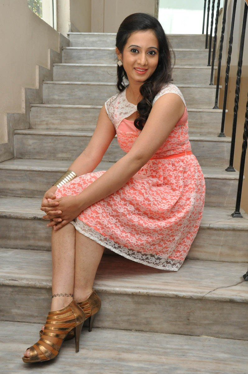 Actress HarshikaPoonacha Latest HD Images