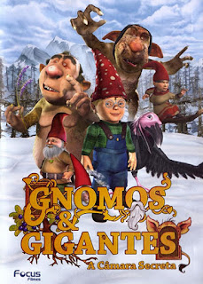 Gnomos e Gigantes: A Câmara Secreta - DVDRip Dublado