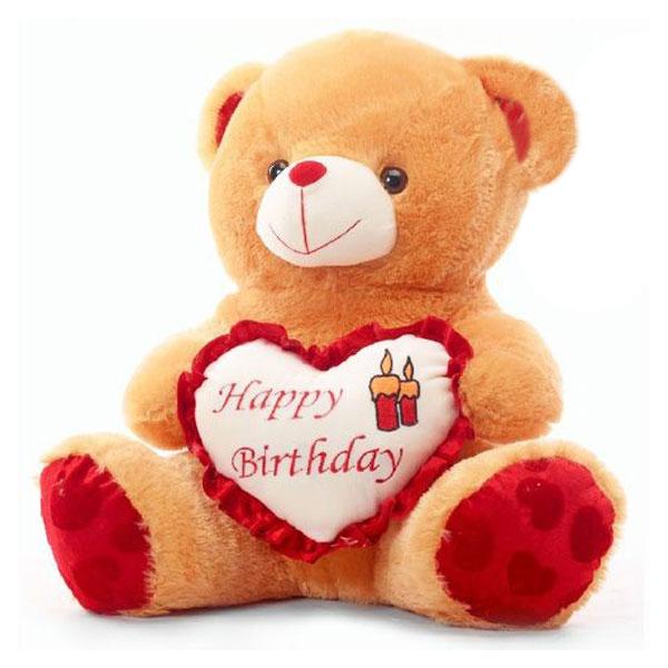 Beautiful Happy Birthday Teddy Bear Image