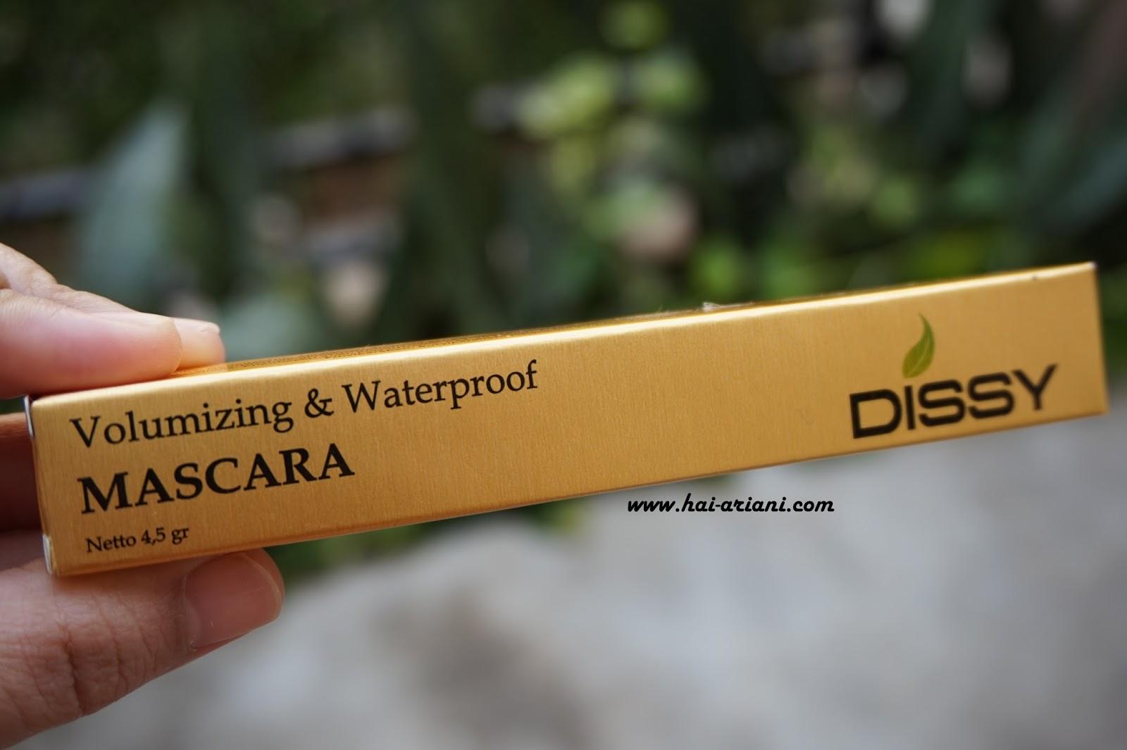 VOLUMIZING AND WATERPROOF MASCARA DISSY REVIEW