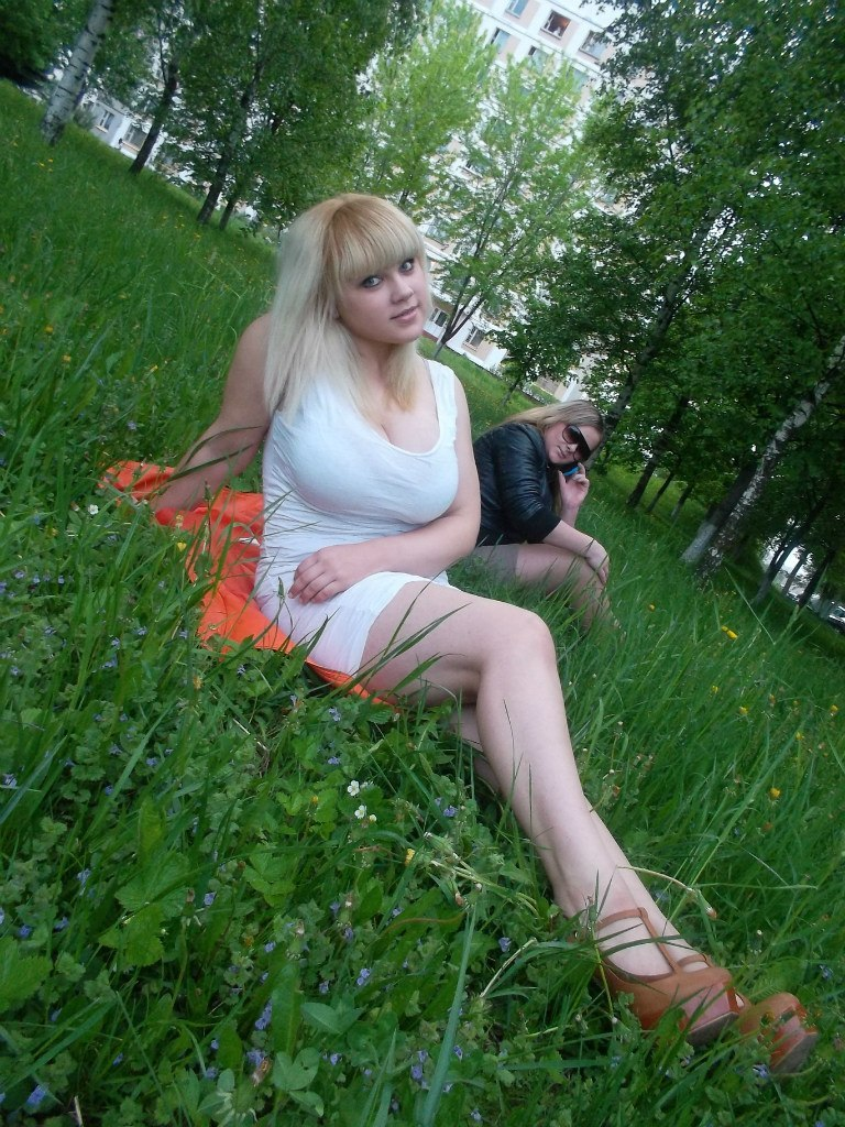 Creampie in the woods