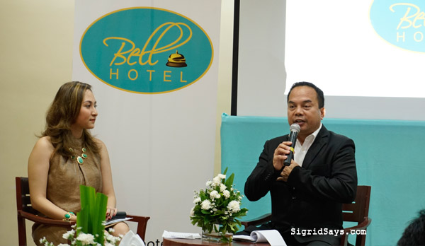 Bell Hotel - Bacolod hotels - MassKara Festival - Negros Occidental - Philippine hotels - Bacolod blogger - facade