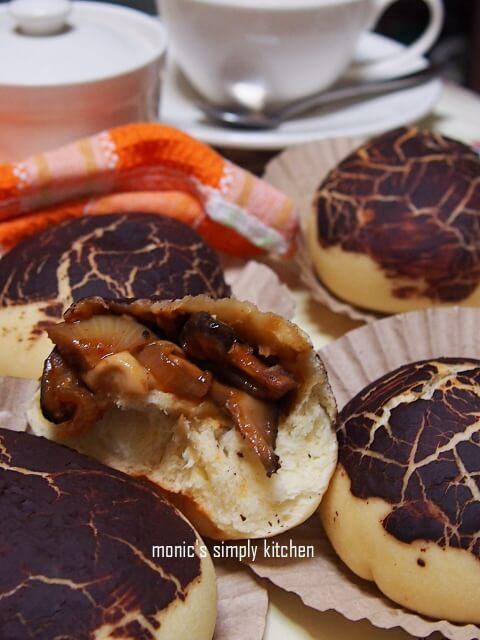 resep roti jamur pedas ksb