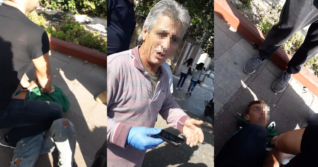 Μυτιλήνη: Μετανάστης έκλεψε κινητά και οι κάτοικοι πήραν το νόμο στα χέρια τους