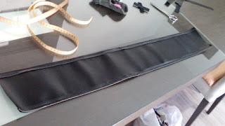 Cinturon cospay Kylo Ren wip proceso