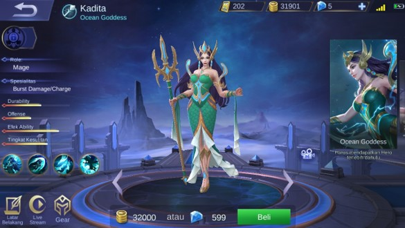 Kadita Hero Mobile Legends Overpowered