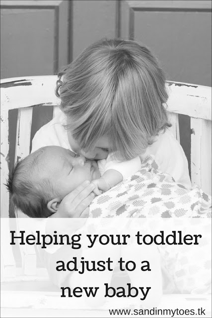 Five tips to help your toddler adjust to a new baby in the house.