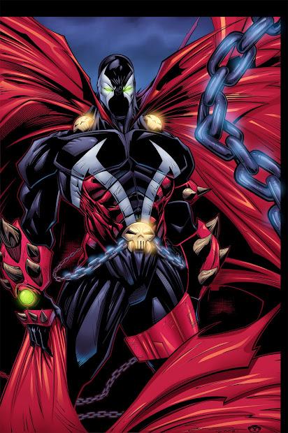 Spawn Marvel Comics Art