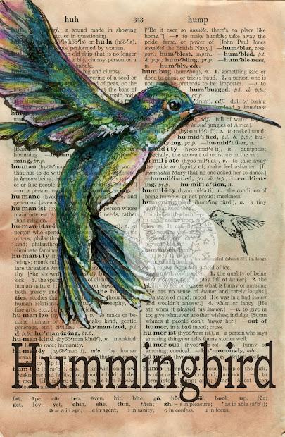 Flying Shoes Art Studio Hummingbird