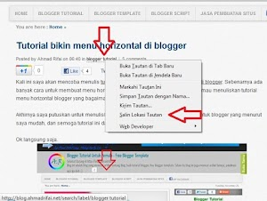 Mencari Link Label Posting