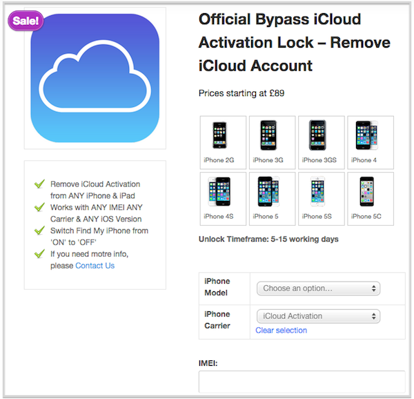 remove icloud activation lock iphone x / 8 / 7