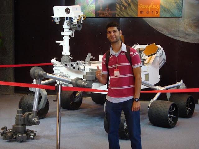 Curiosity rover, Jet Propulsion Lab, Pasadena (California), USA. Foto cedida por Ramón González