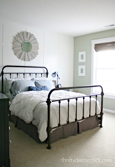 metal farmhouse bed