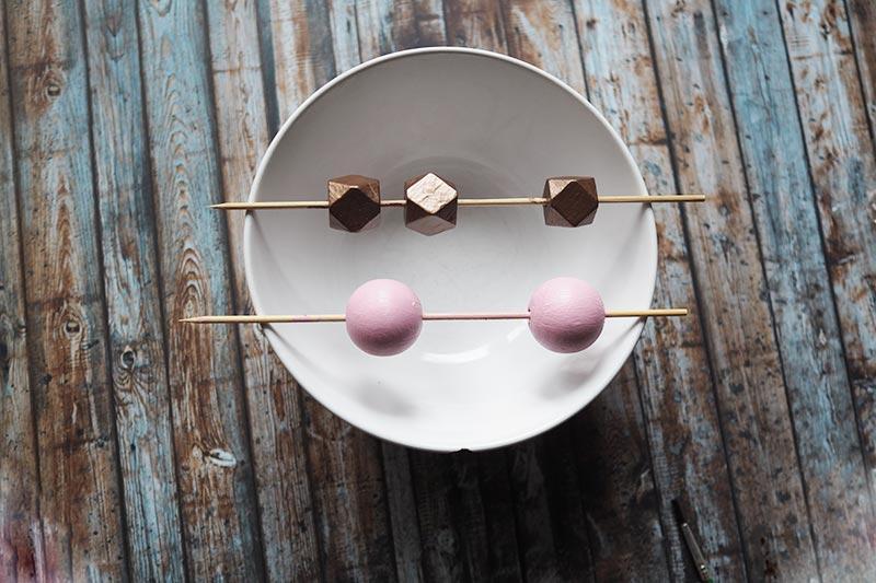 KuneCoco • DIY • Kette • Holzperlen
