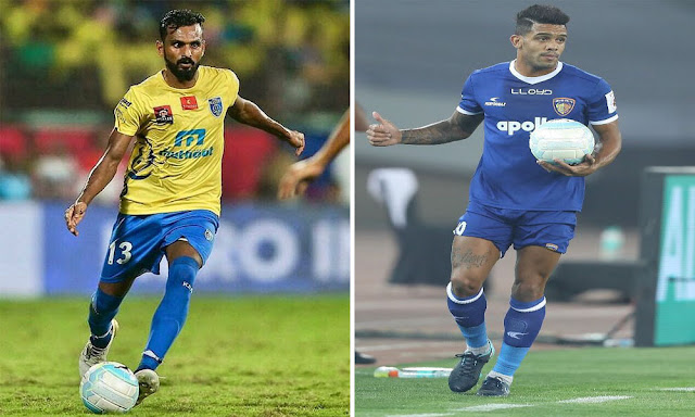 kbfc-vs-chennaiyinfc-players-2018-hd-images