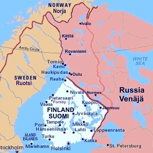 Suomen Ydinvoimalat Kartalla