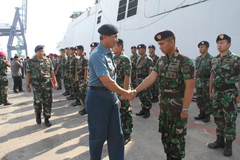 TNI Mengirim 122 Personel Untuk Mengikuti Maritime Security Exercise