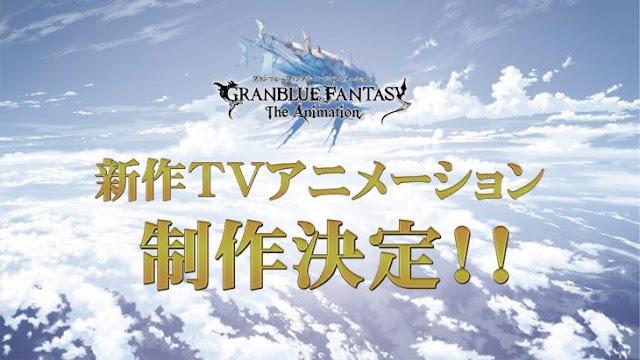 Imagen promocional de la segunda temporada de Granblue Fantasy