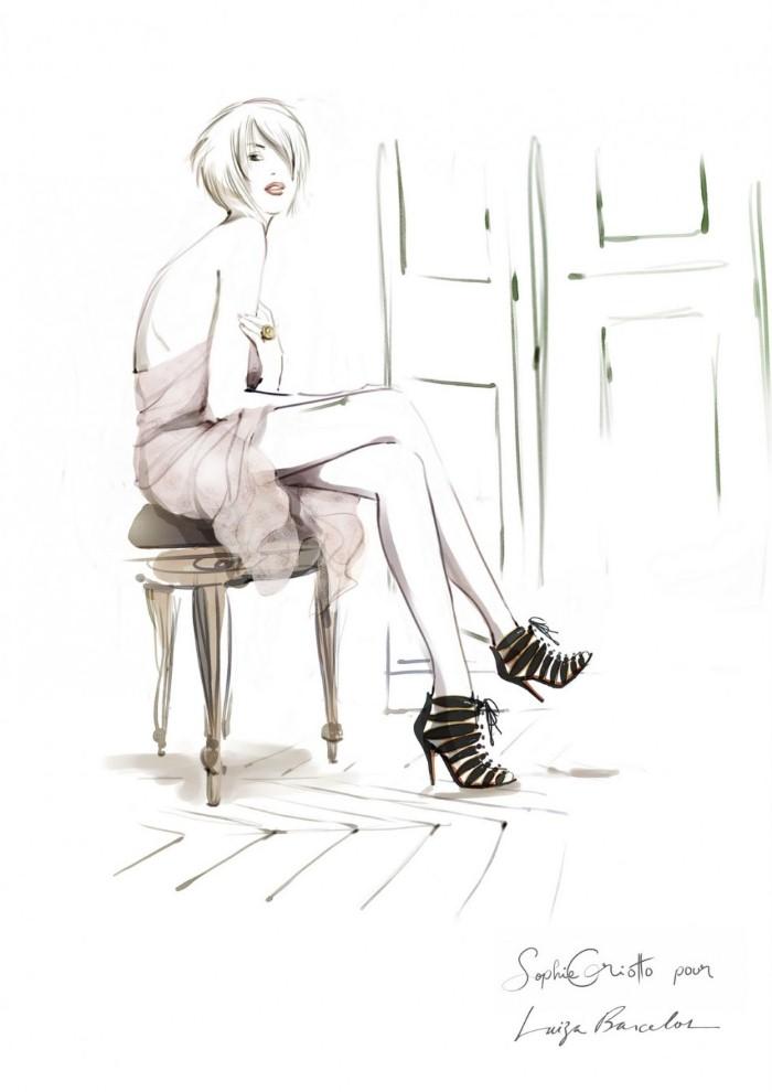 Красивые иллюстрации. Sophie Griotto 7