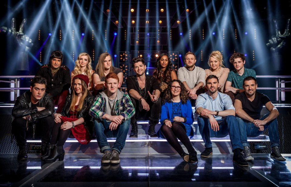 The Voice UK Series 2 Team Danny