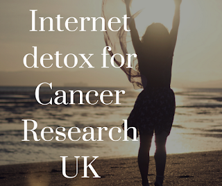 fundraising, internet detox, cancer research fundraising, fundraising ideas,